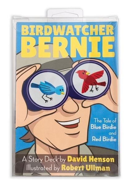 [4 Pac] Bird Watcher Bernie Story Deck™ - The Tale of Blue Birdie and Red Birdie