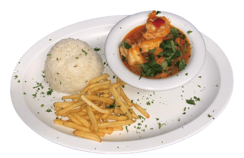 Shrimp Creole with 2 Sides  - Friday Special