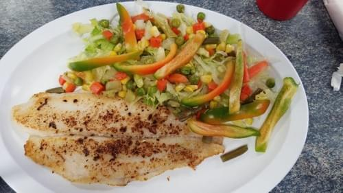 Grilled Dolphin Fillet w/ 2 sides - Thursday Special