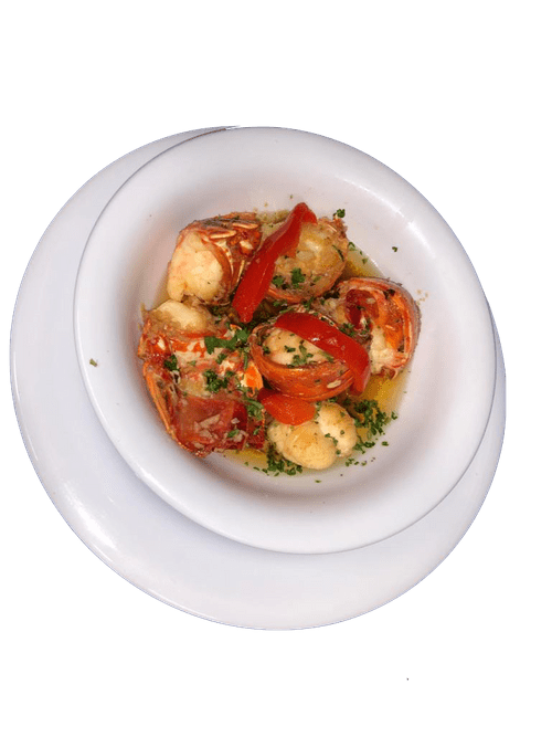 Lobster Scampi, Creole, or Grilled