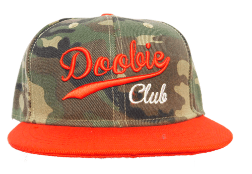 HAT SNAPBACK CAMOUFLAGE RED