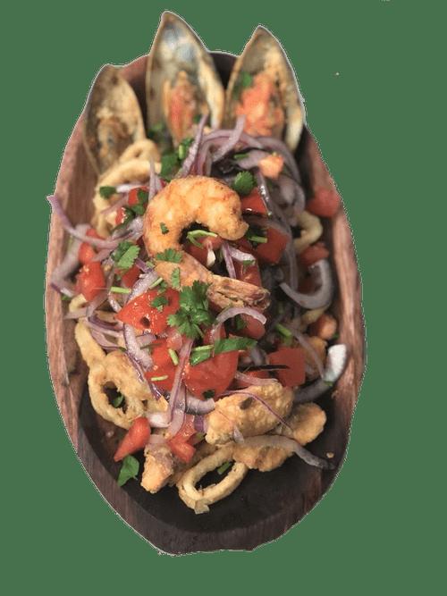 Fried Seafood (Jalea Mixta)
