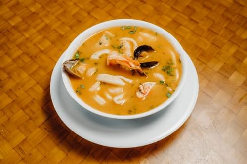Seafood Soup with Lobster