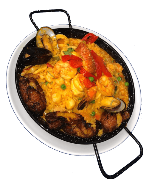 Paella w/ Sweet Plantain - Wednesday Special