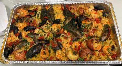 Special Paella (5 servings including sweet plantains as a side)
