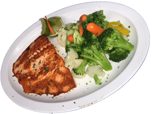 Grilled Salmon Fillet w/ 2 sides - Friday Special
