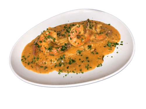 Fish with Shrimp COD