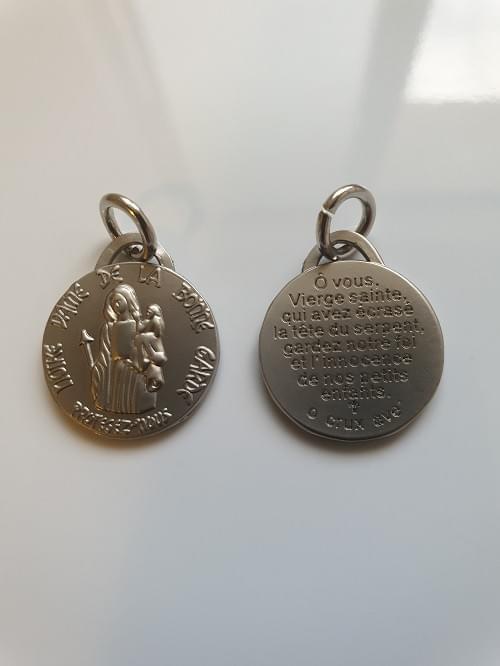 Medal of Our Lady of Safe Custody, Bonne Garde ( Matt Nickel ) , 1.8cm