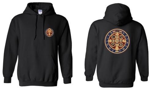 Saint Benedict Logo Hoodies