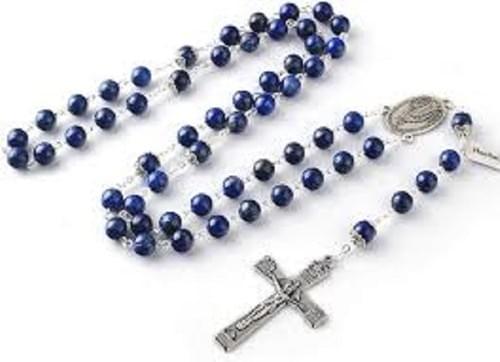 Lapis Lazuli Rosary Beads, High Quality Stone Beads