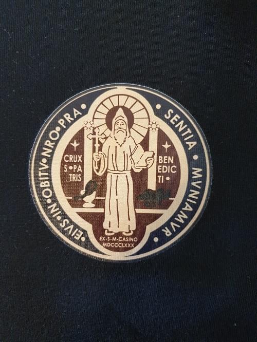 Saint Benedict Hoodies