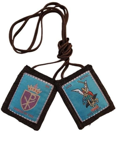 St.Michael Brown Scapular