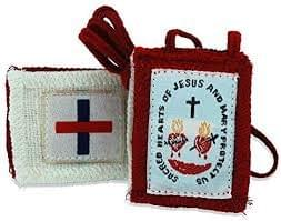 Five Fold Scapular,  High Quality, Authentic & Durable
