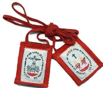 Five Fold Scapular,  High Quality, Authentic & Durable  (USA )