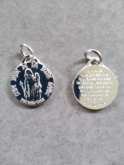 Medal of Our Lady of Safe Custody, Bonne Garde ( Silver/ Nickel )