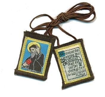 Saint Charbel Brown Scapular ( USA )