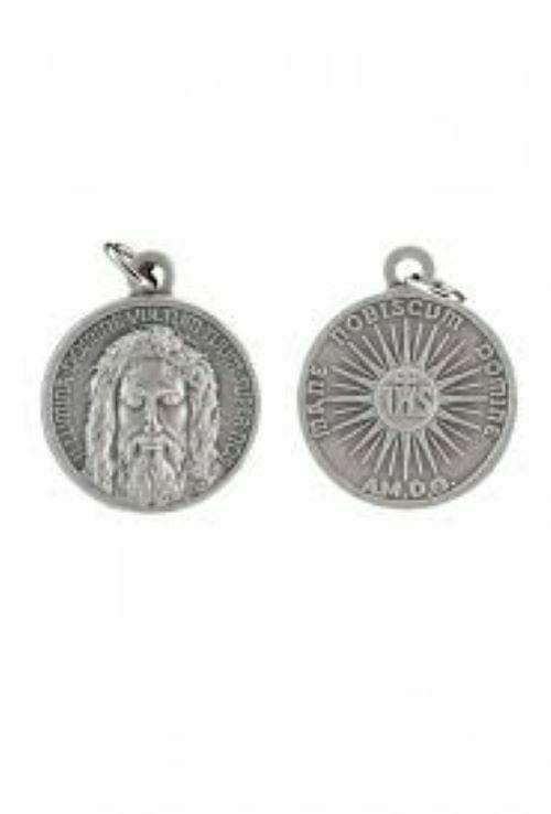 Holy Face of Jesus Medal, 1.8 cm, Silver or Gold