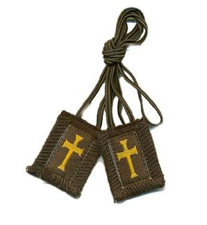 Crusaders/Athletes Brown Scapular ( USA )