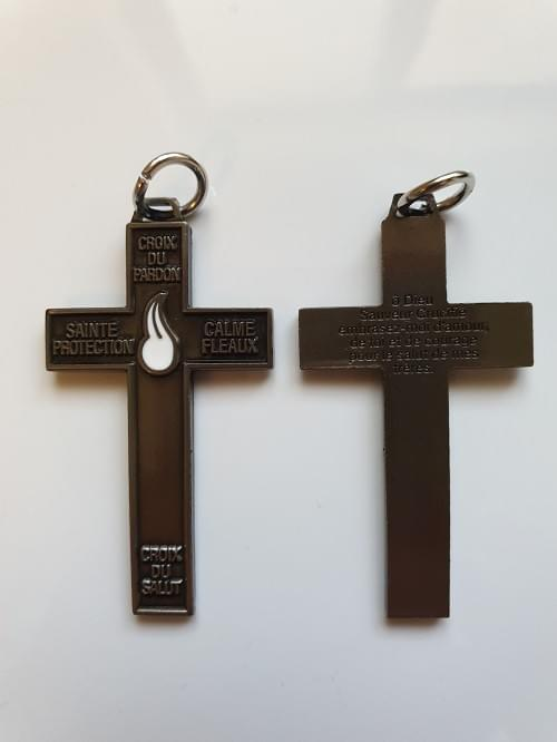 New Solid High Quality Cross of Forgiveness or Pack of 20 , Dark Tone.