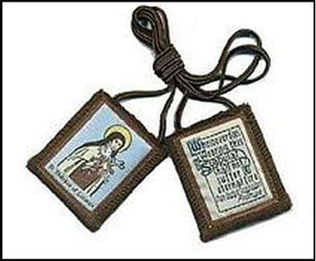 St. Therese of Lisieux Brown Scapular ( USA )