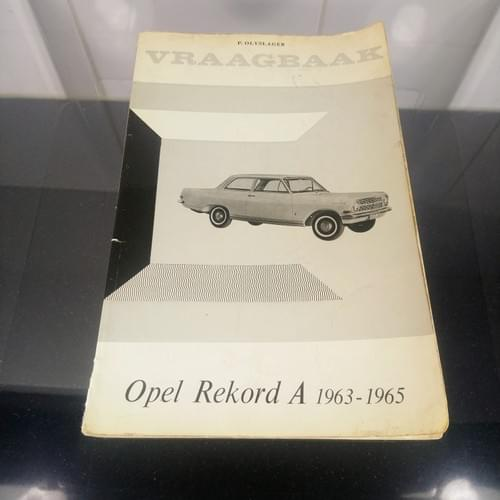 Vraagbaak Opel Rekord A 1963-1965
