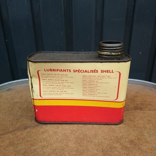 SHELL Donax U olieblik, jaren '50