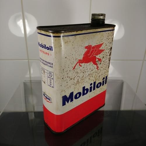 Mobiloil 2 liter olieblik