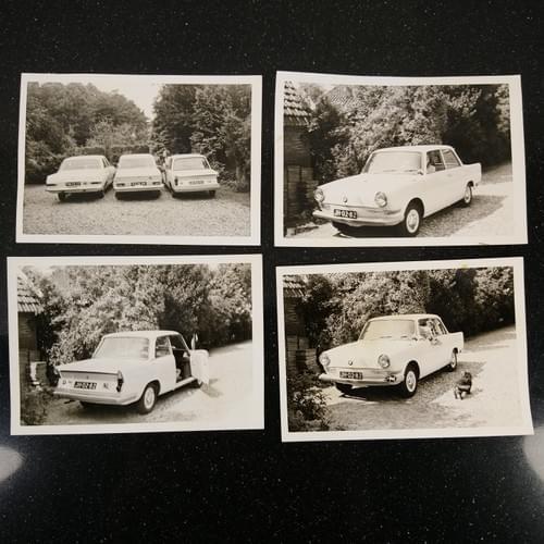 Lot foto's en bonnen BMW LS700