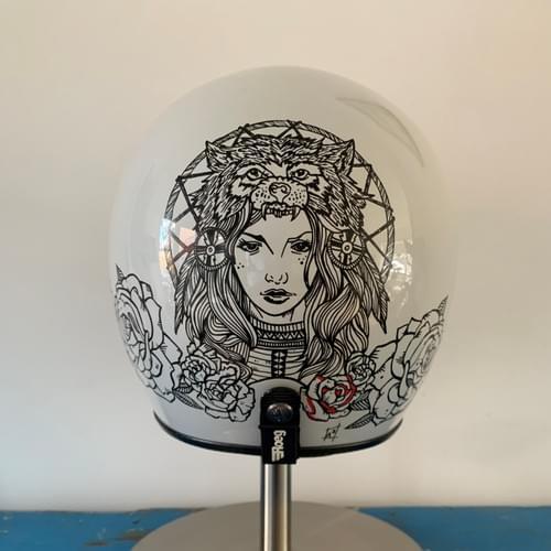 Art to Ride - Roeg Jett helmet artwork 'full'