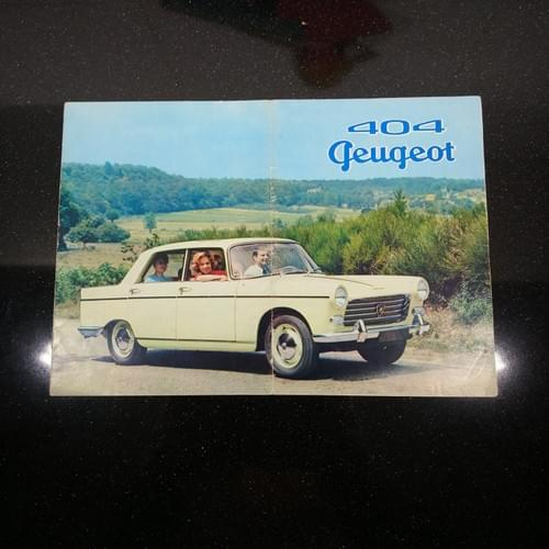 Peugeot 404 Berline folder