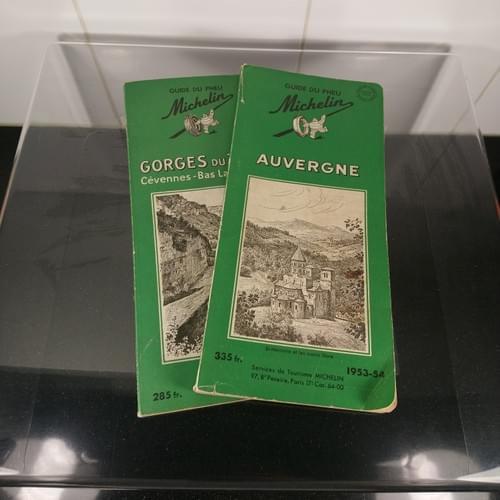 Michelin reisgidsen Frankrijk, jaren '50