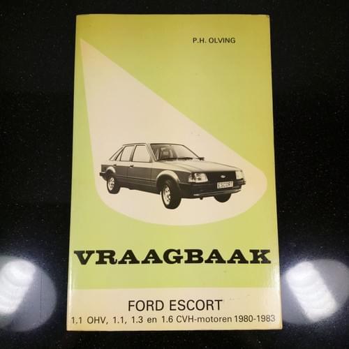 Vraagbaak Ford Escort 1980-83