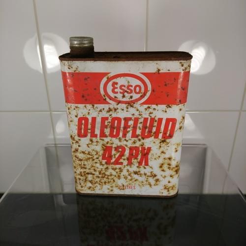 Esso OleoFluid blik