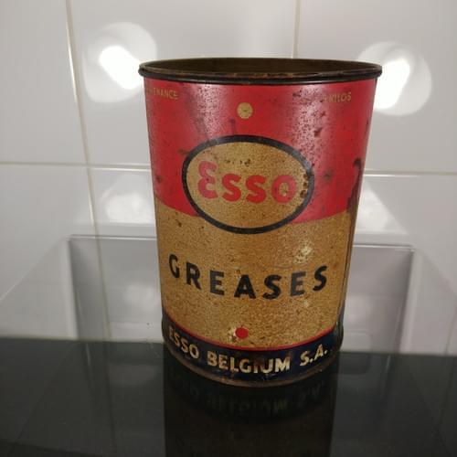 Esso vetblik, jaren '50
