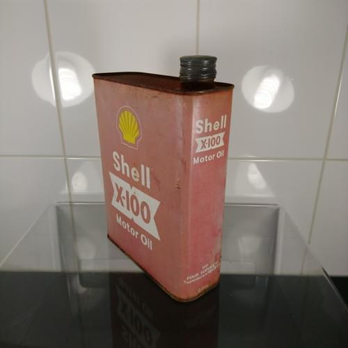 Shell X-100 olieblik