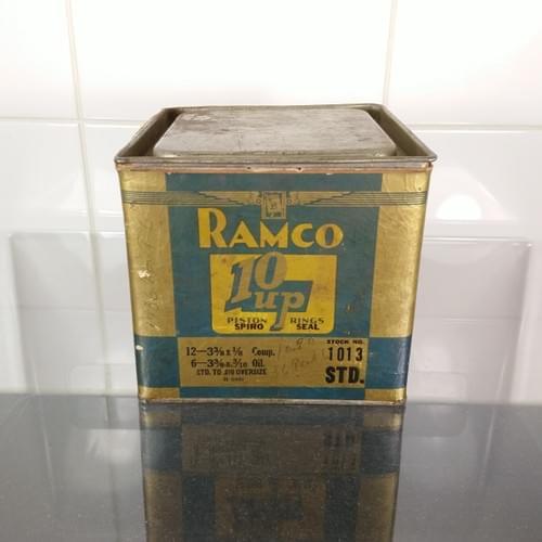 RAMCO blik zuigerveren