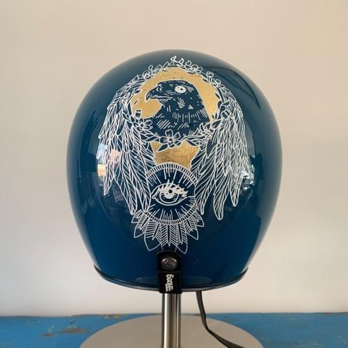 Art to Ride - helmet artwork only 'basic'