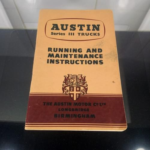 Instructieboek Austin Series III Trucks
