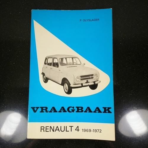 Vraagbaak Renault 4 1969-72