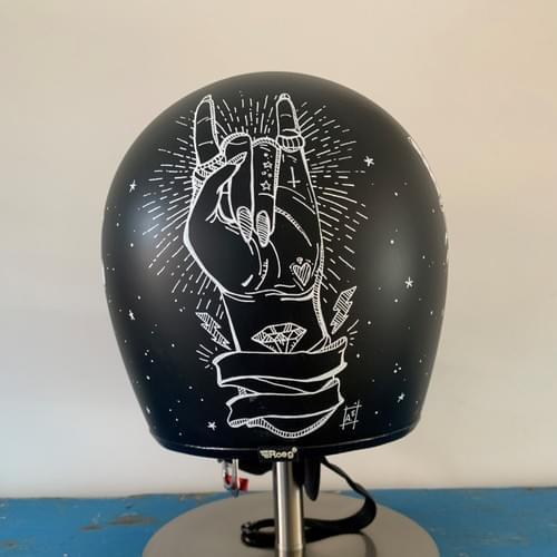 Art to Ride - Roeg Peruna helmet artwork 'full'