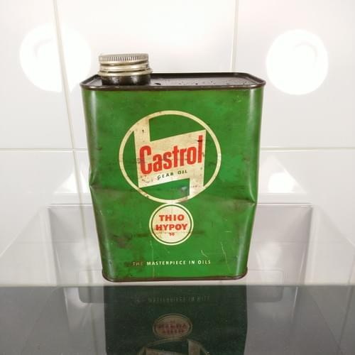 Castrol gear oil Thio Hypoy, jaren '50