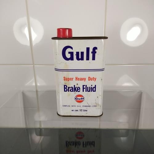 Gulf Brake fluid