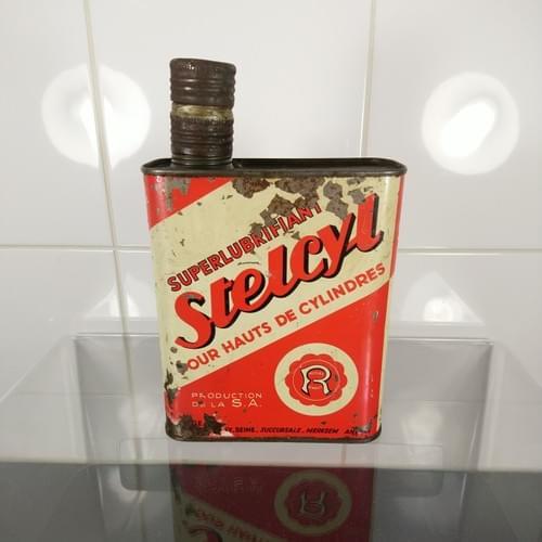 Stelcyl olieblik, met velengde schenkopening
