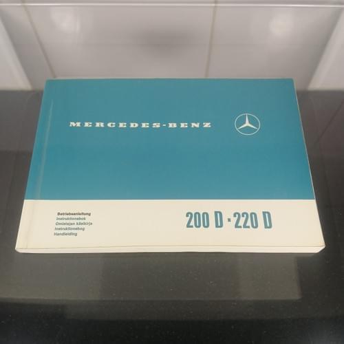 Instructieboek Mercedes Benz 200D-220D