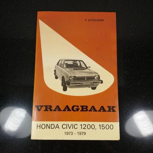 Vraagbaak Honda Civic 1973-79