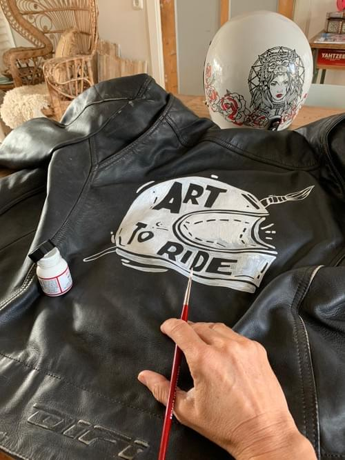 Art to Ride - jacket artwork only