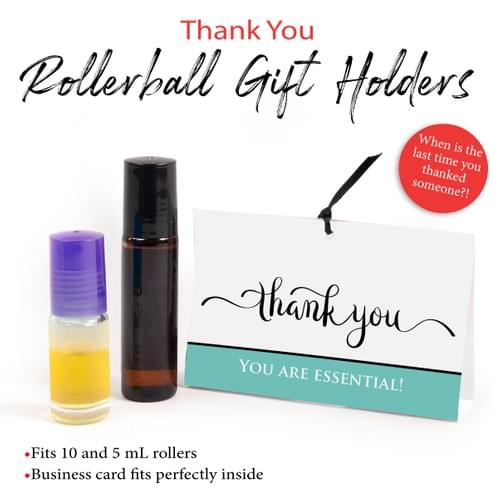 """DOWNLOAD """"Thank you"""" Rollerball Gift Holders"""
