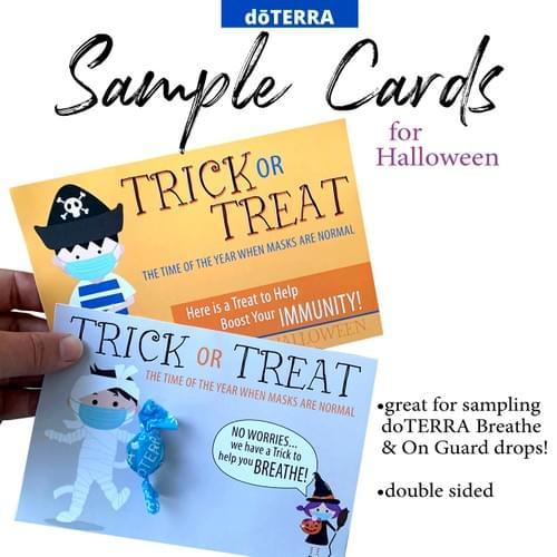 doTERRA Halloween Sample Card DOWNLOAD