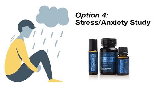 Stress/Anxiety Study; Option 4