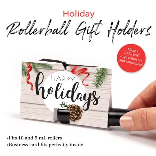 Rollerball Holiday Gift Holder DIY DOWNLOAD